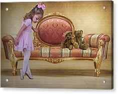 Ballerina Acrylic Print by Sharon Lisa Clarke