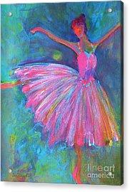 Ballet Bliss Acrylic Print by Deb Magelssen