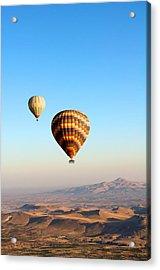 Balloon Acrylic Print by Ernesto Cinquepalmi