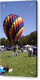 Balloon Rides Acrylic Print by Lee Hartsell