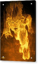 Balrog Of Morgoth Acrylic Print by Curtiss Shaffer