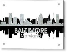 Baltimore Md 4 Acrylic Print by Angelina Vick