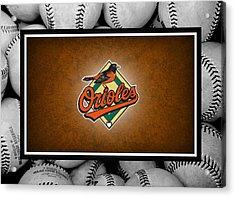 Baltimore Orioles Acrylic Print by Joe Hamilton