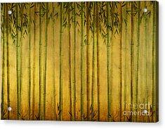 Bamboo Rising Acrylic Print by Bedros Awak