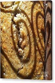 Banana Bread Love Acrylic Print by Gwyn Newcombe