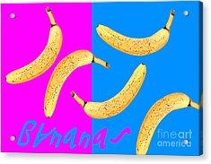 Bananas Acrylic Print by Natalie Kinnear