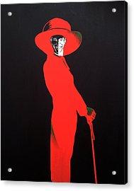 Barack Obama Acrylic Print by Bryan Ahn