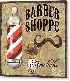Barber Shoppe 1 Acrylic Print by Debbie DeWitt