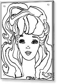 Barbie Doll Bd0000000001 Acrylic Print by Pemaro