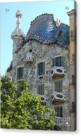 Barcelona Spain Acrylic Print by Gregory Dyer