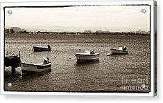 Barcos Acrylic Print by John Rizzuto