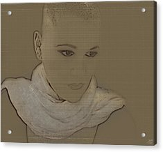 Bared Acrylic Print by Lisa Knechtel