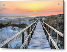 Barefoot Acrylic Print by JC Findley