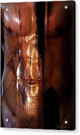 Barmuda Metallic  2 Acrylic Print by Mark Ashkenazi