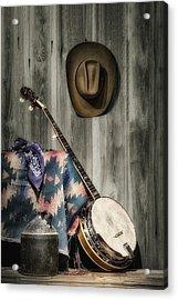 Barn Dance Hoe Down Acrylic Print by Tom Mc Nemar