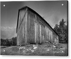 Barn In Port Oneida Acrylic Print by Twenty Two North Photography