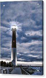 Barnegat Magic Acrylic Print by Olivier Le Queinec