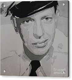 Barney Fife Contrast Acrylic Print by Jules Wagner