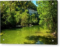 Barton Creek Greenbelt  Acrylic Print by Mark Weaver
