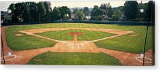 Baseball Diamond Looked Acrylic Print by Panoramic Images