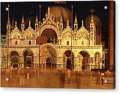 Basilica Di San Marco Acrylic Print by George Buxbaum