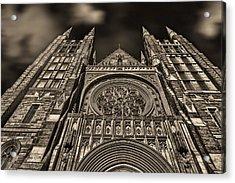 Basilica Of Saints Peter And Paul  Acrylic Print by Bob Orsillo