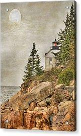 Bass Harbor Head Lighthouse. Acadia National Park Acrylic Print by Juli Scalzi