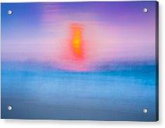 Bathing Corp Sunrise 2 Acrylic Print by Ryan Moore