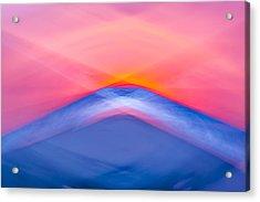 Bathing Corp Sunrise 5 Acrylic Print by Ryan Moore