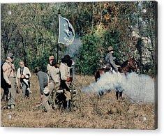 Battle Of Franklin - 3 Acrylic Print by Kae Cheatham