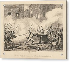 Battle Of Ross Acrylic Print by British Library