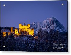 Bavarian Castle Acrylic Print by Brian Jannsen
