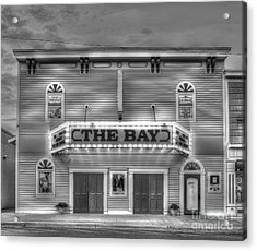 Bay Theatre In Sutton's Bay Acrylic Print by Twenty Two North Photography
