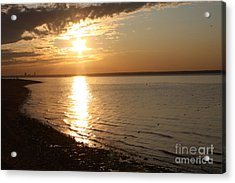 Bayville Sunset Acrylic Print by John Telfer