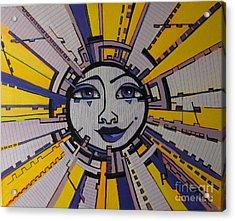 Bazinga - Sun Acrylic Print by Grace Liberator