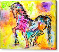 Be Free Acrylic Print by Ivan Guaderrama