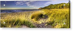 Beach At Esch Road Acrylic Print by Twenty Two North Photography
