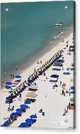 Beach Life  Acrylic Print by Jennifer E Doll