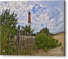 Beach View Of Barney Acrylic Print by Mark Miller
