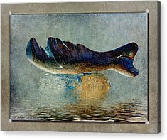 Beached Whale II Acrylic Print by WB Johnston