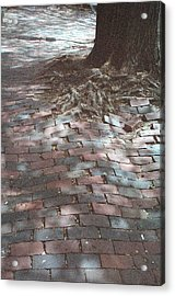 Beacon Hill Brick Acrylic Print by Jill Tuinier