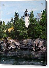 Bear Island Lighthouse Acrylic Print by Jack Skinner