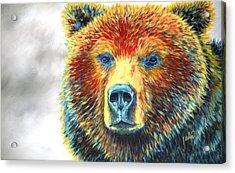 Bear Thoughts Acrylic Print by Teshia Art