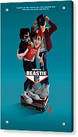 Beatie Boys_the New Style 2 Acrylic Print by Nelson Dedos Garcia