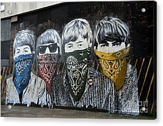 Beatles Street Mural Acrylic Print by RicardMN Photography