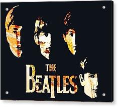 Beatles Acrylic Print by Trisha Buchanan