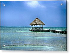Beautiful Belize Acrylic Print by Kristina Deane