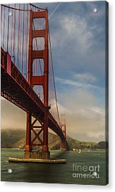 Beautiful Golden Gate Acrylic Print by Mitch Shindelbower