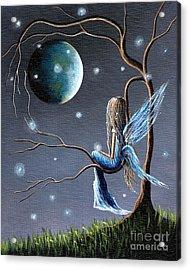 Fairy Art Print - Original Artwork Acrylic Print by Shawna Erback