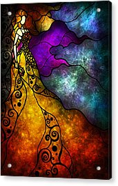 Beauty And The Beast Acrylic Print by Mandie Manzano